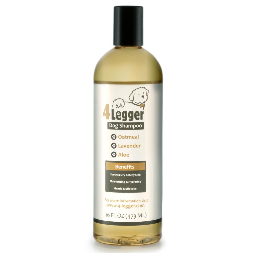 4 Legger Usda Certified Organic Dog Shampoo With Organic Oatmeal And