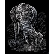 Royal & Langnickel Elephant and Baby Art Engraving (Set of 2)