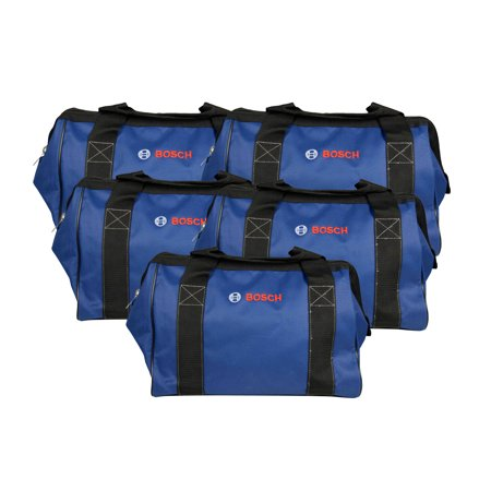 Bosch CW01 15inch Contractor Tool Bag 5 Pack