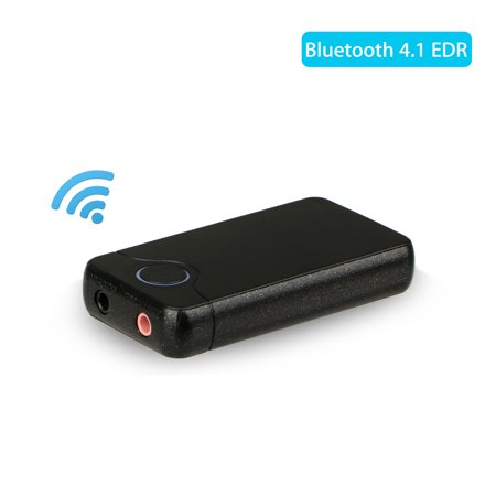 B18 Wireless Bluetooth Transmitter Receiver Stereo Audio Music Adapter Built-AEC Echo&Noise Cancellation for Smartphones, Tablet, Bluetooth Headphones and All Bluetooth Audio