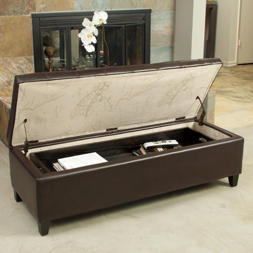Christopher Knight Home  Portsmouth Storage Ottoman with Tray