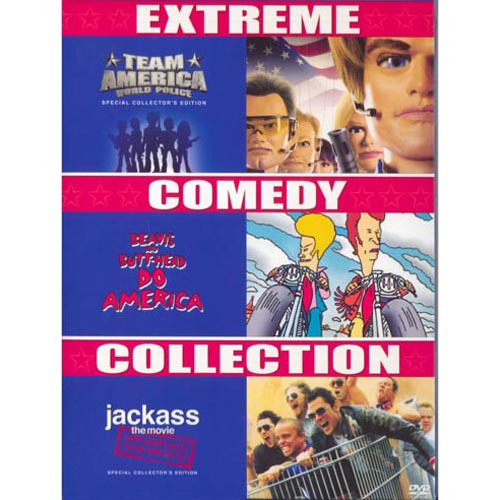 Extreme Comedy Collection: Team America / Beavis & Butthead / Jackass: The Movie