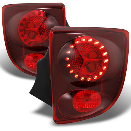 - 00-05 Toyota Celica LED Red Lens Tail Lights Brake Lamps Replacement Pair Set