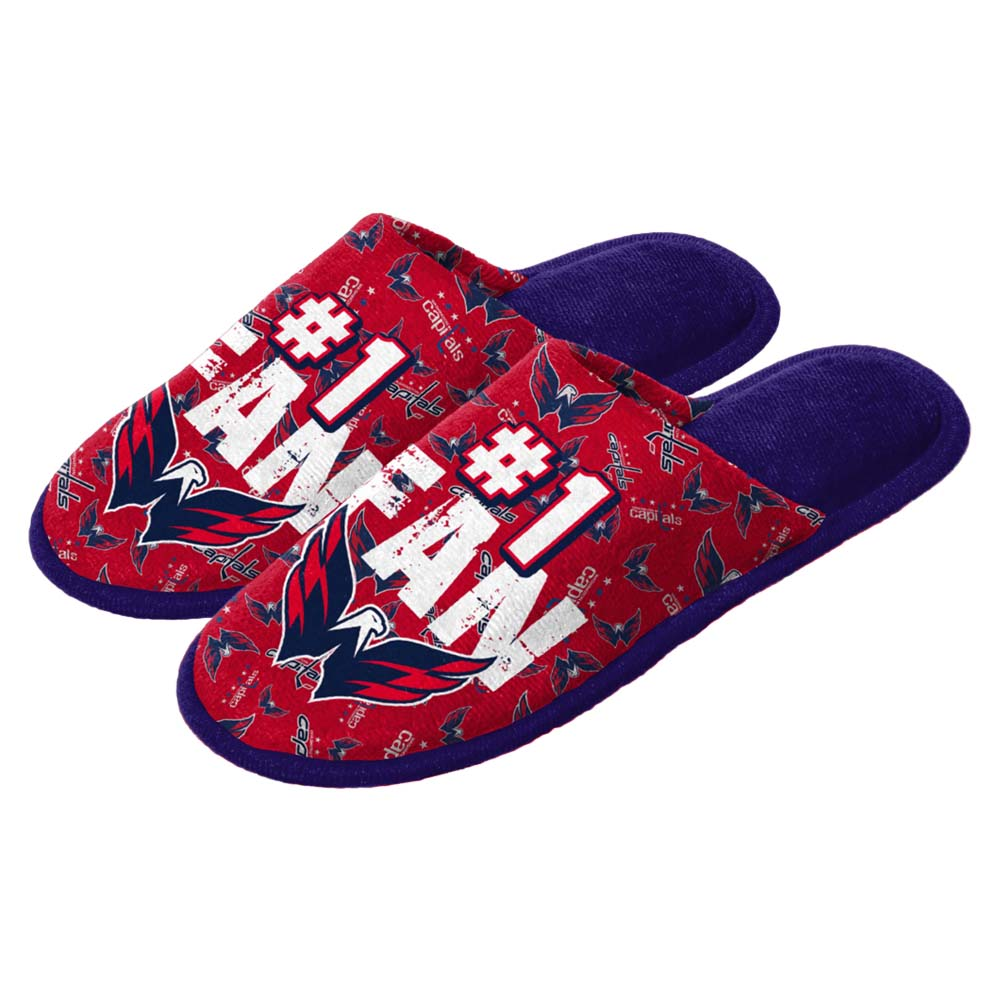 Washington Capitals Youth Scuff Slide Slippers