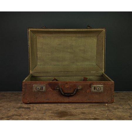 Canvas Print Vintage Oldschool Briefcase Stretched Canvas 10 x 14 ()