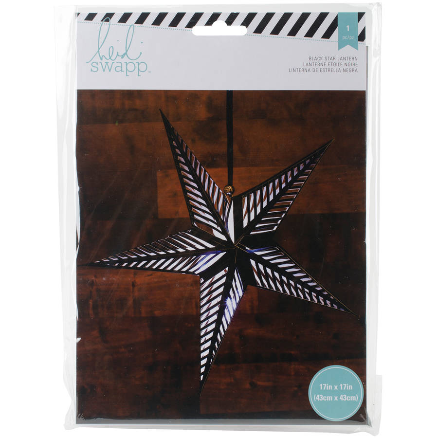 Heidi Swapp 5-Point Star Paper Lantern, 17""