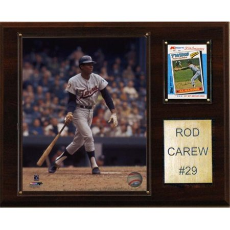 C & I Collectibles 1215CAREW MLB Rod Carew Minnesota Twins Player Plaque - image 1 de 1