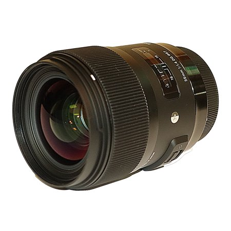Sigma 35mm f/1.4 DG HSM Art Lens for Canon EF #340-101 - AUTHORIZED SIGMA (Canon 35mm Slr 35mm Film)