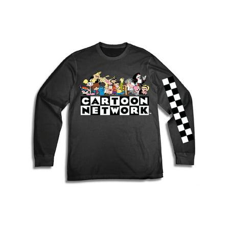 Movies & Tv Cartoon network men's 90's ed edd and eddy johnny bravo dexter's laboratorylong sleeve graphic tee w](Cousin Eddy)