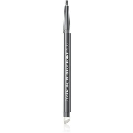 2 Pack - CoverGirl Perfect Point Plus Eye Liner Pencil, Charcoal [205], 0.008 oz