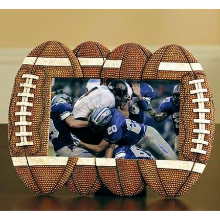 Giftcraft Football Photo Frame, Durable Polystone By Gift Craft