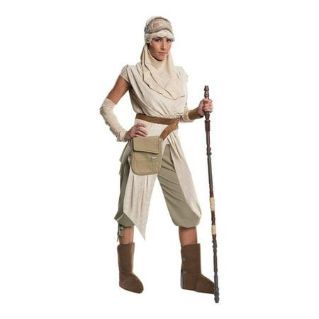 Star Wars: The Force Awakens Rey Grand Heritage Women's Adult Halloween Costume (Halloween Costumes Marina Del Rey)