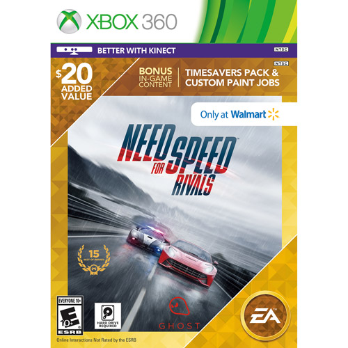 Image of Need for Speed: Rivals - Wal-Mart Exclusive (Xbox 360)
