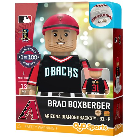 Brad Boxberger Arizona Diamondbacks OYO Sports 2018 Little League World Series Players Weekend Minifigure - No Size Arizona Ladies Player Series