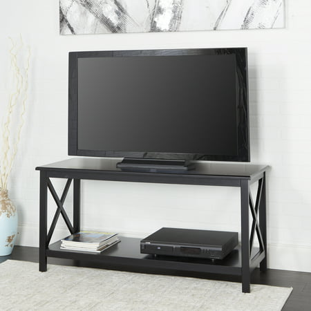 Better Homes & Gardens Clayton X-Side TV Stand - Cherry Finish