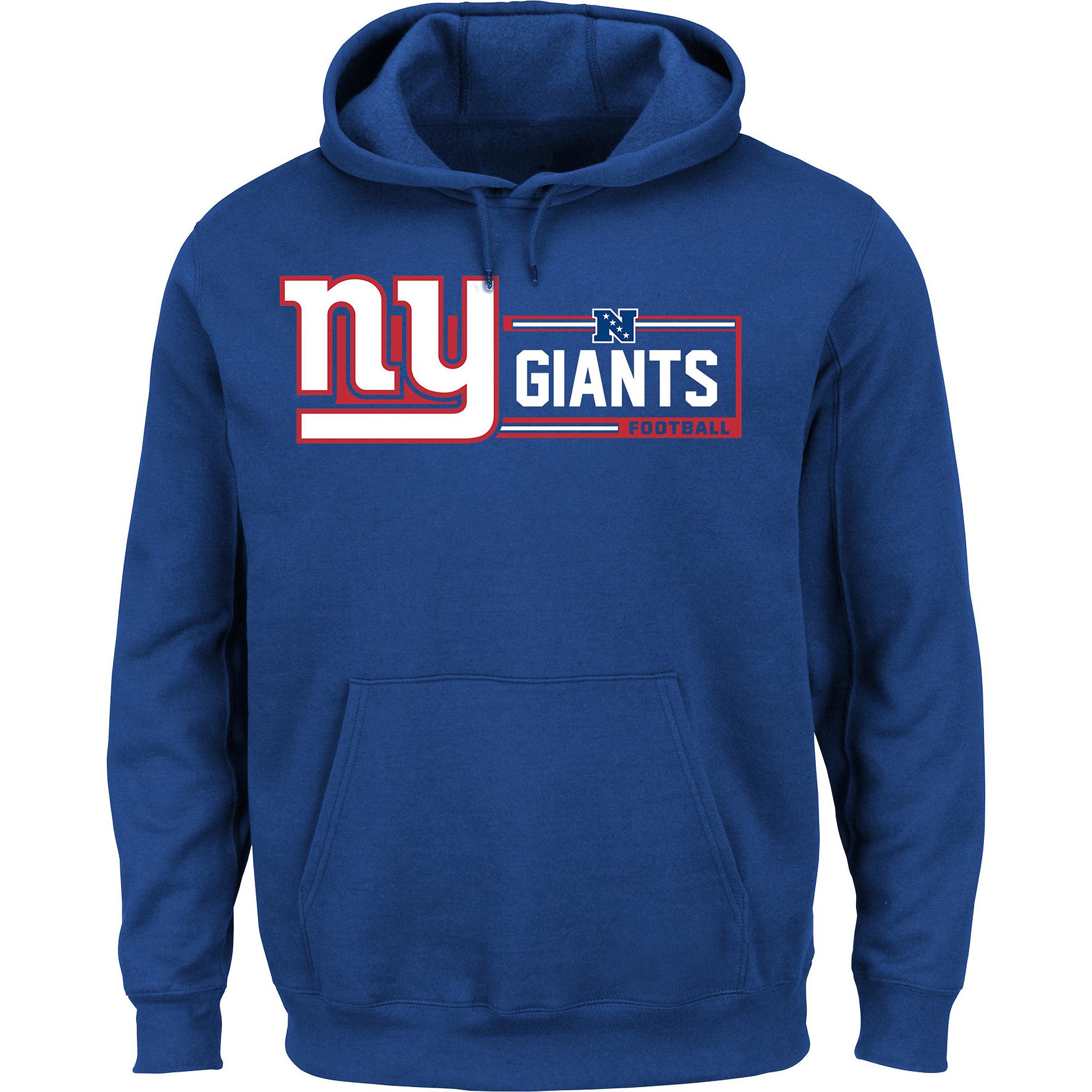 Men\'s NFL New York Giants Hooded Sweatshirt - Walmart.com