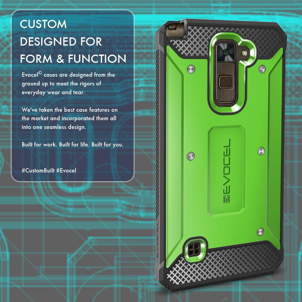 low priced 1208f d12ef LG G Stylo 2 / LG G Stylo 2 Plus Case, Evocel [Belt Clip Holster] [Slim  Profile] [Porthole Covers] Explorer Series Phone Case for LG G Stylo 2 / LG  G ...