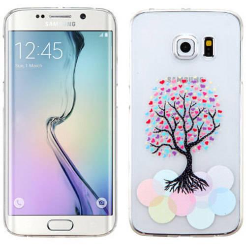 Samsung Galaxy S6 Edge MyBat Love Tree T-Clear Phone Protector Cover