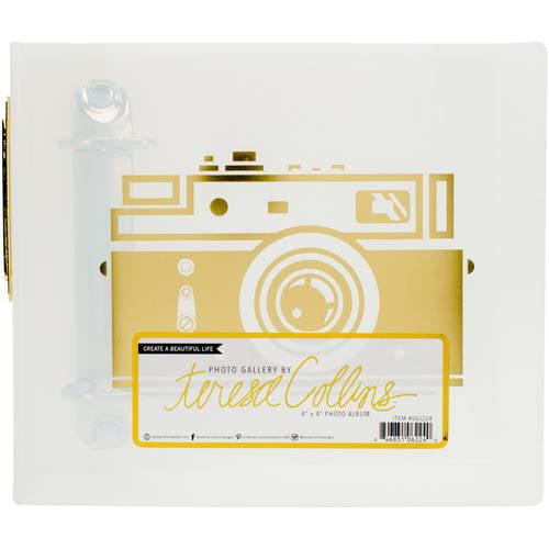 "Teresa Collins Photo Gallery 3-Ring Album, 4"" x 4"""