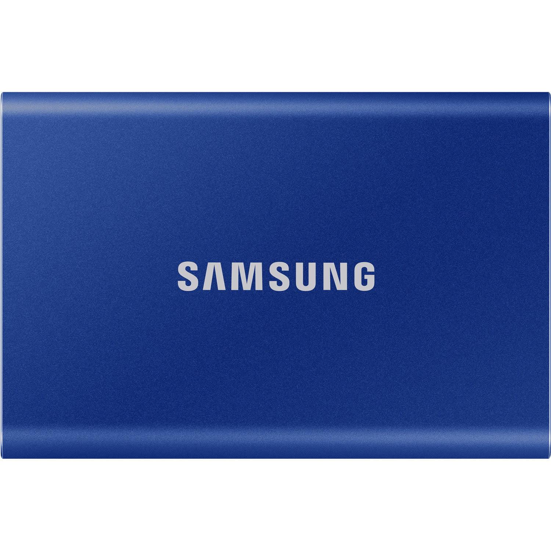 Samsung 500GB Portable SSD T7 USB 3.2, Blue