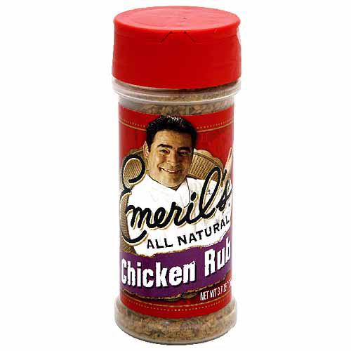 Emeril's Chicken Rub Seasoning, 3.7 oz (Pack of 6)
