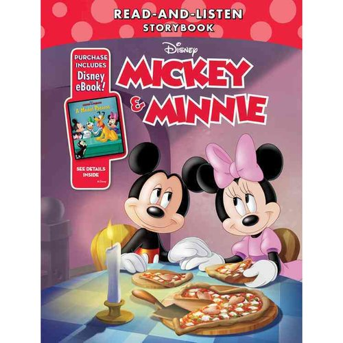 Mickey and Minnie Read-and-Listen Storybook
