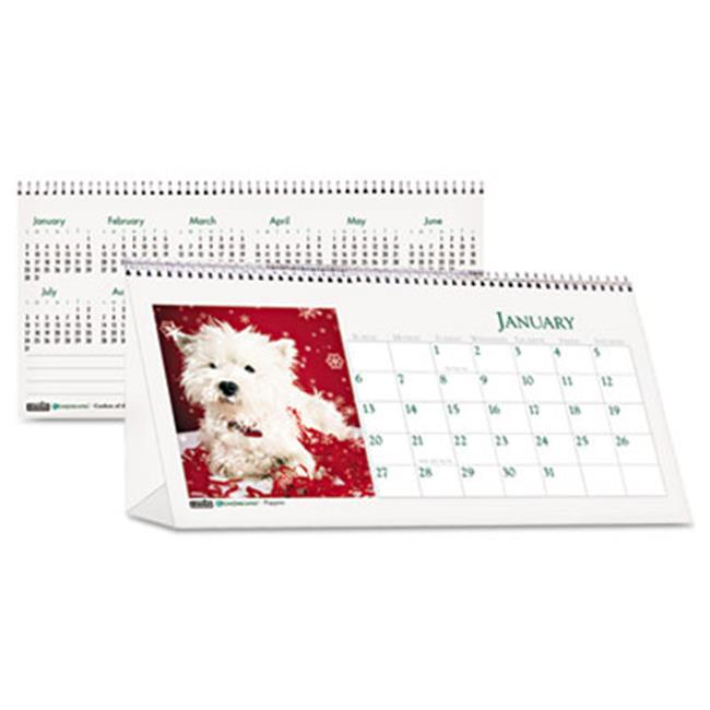 House Of Doolittle 3659 2016 Puppy Photos Desk Tent Monthly Calendar