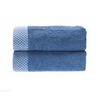 Rayon from Bamboo blend Resort Hand Towel (2pk) in Indigo