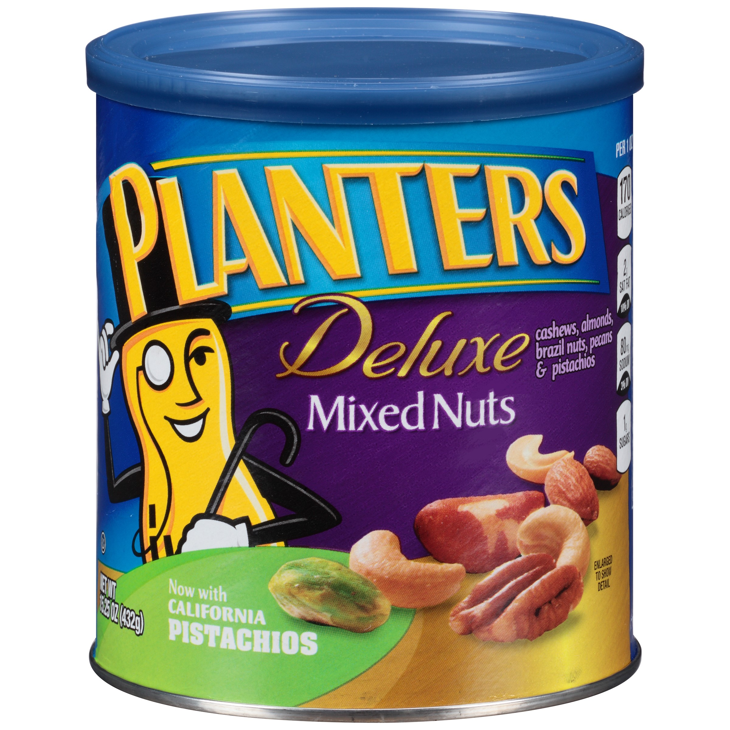 Planters Deluxe Mixed Nuts, 15.25 oz by Kraft
