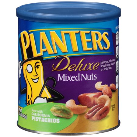 Planters Deluxe Mixed Nuts, 15.25 Oz