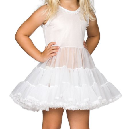 Tulle Coat (J.C. Collections NEW White Baby Girl's Size 18 Months Tulle Underslip Dress)