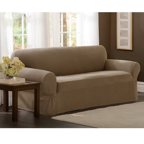 Darby Home Co Box Cushion Sofa Slipcover by