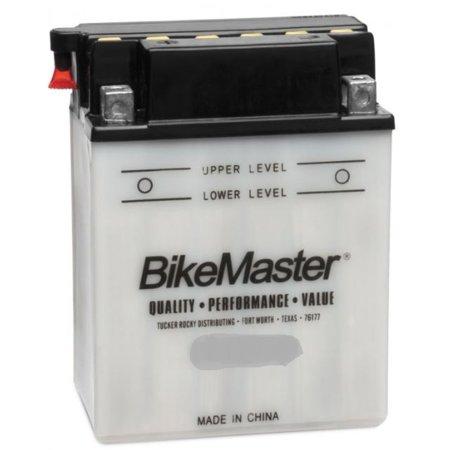 BikeMaster Standard Battery 48 Cranking Amps 99L X 57W X 110H mm Fits 73-78 Honda XL175
