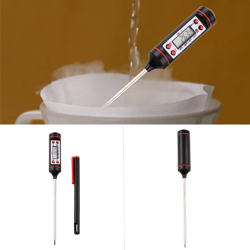 Kitchen BBQ Digital Probe Electronic Thermometer Cooking Food Thermometer