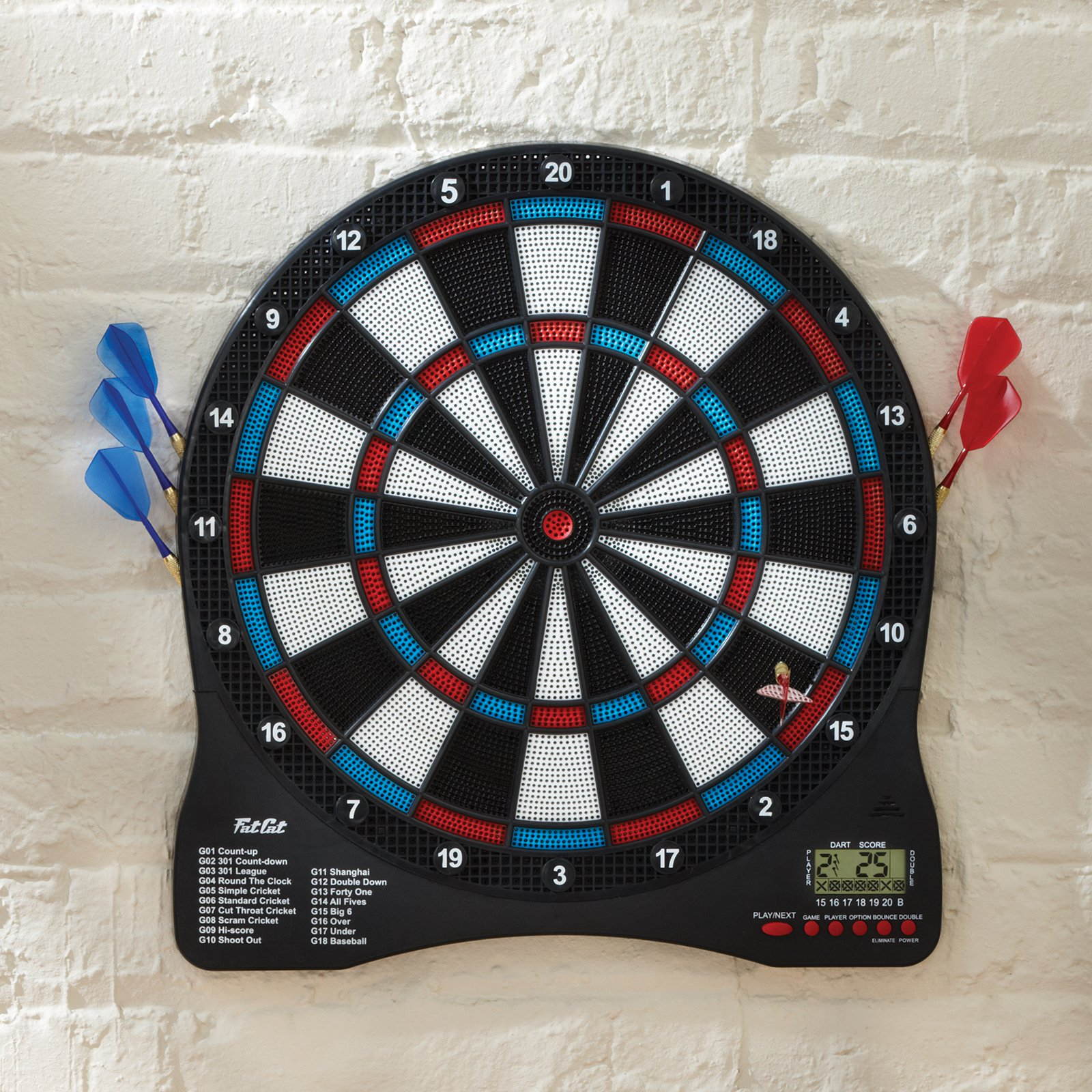 "Fat Cat Sirius 13.5"" Electronic Dartboard by GLD Products Manufacturing"
