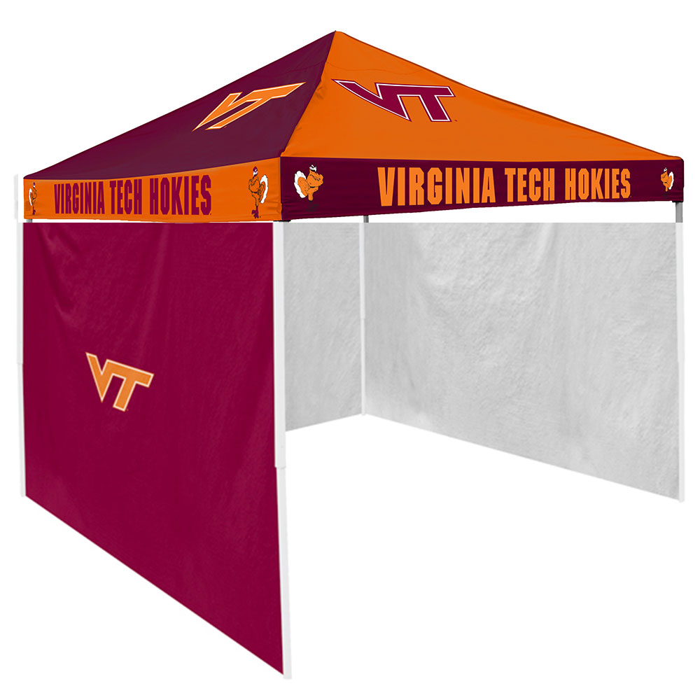 Virginia Tech Hokies NCAA 9u0027 x 9u0027 Checkerboard Color Pop-Up Tailgate Canopy  sc 1 st  Walmart & Tailgate Tents