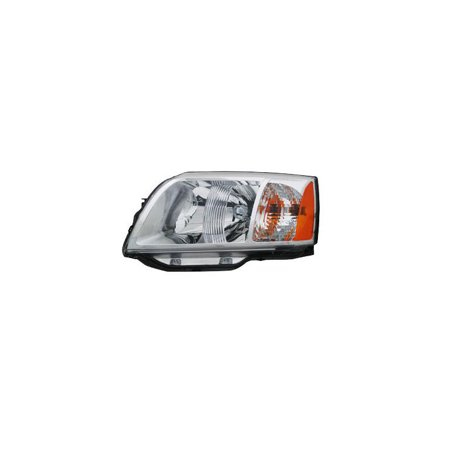 Replacement Driver Side Headlight For 04 08 Mitsubishi Endeavor Mn150663