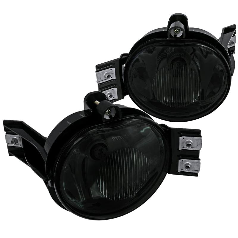 Spec-D Tuning Dodge 2002-2008 Ram 1500/2500/3500 2004-2006 Durango Smoke Fog Lights Bumper Lamp + Bulbs 02 03 04 05 06 07 08 (Left + Right)