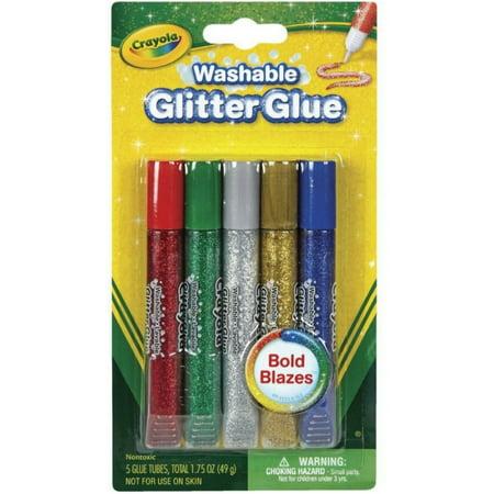 Crayola Washable Glitter Glue 5 ea ()