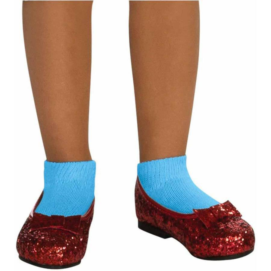 The Wizard of Oz Ruby Slippers Girls' Halloween Costume Accessory ...