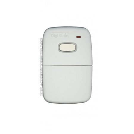 DigiCode DC5010 300Mhz Remote p n DC5010 300Mhz Remote Garage Door Ope