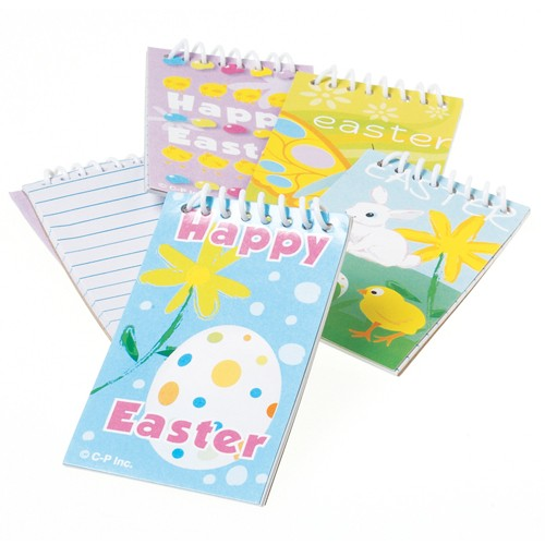 Colorful Spring Easter Notepad 12 pc Basket Fillers Party Supplies