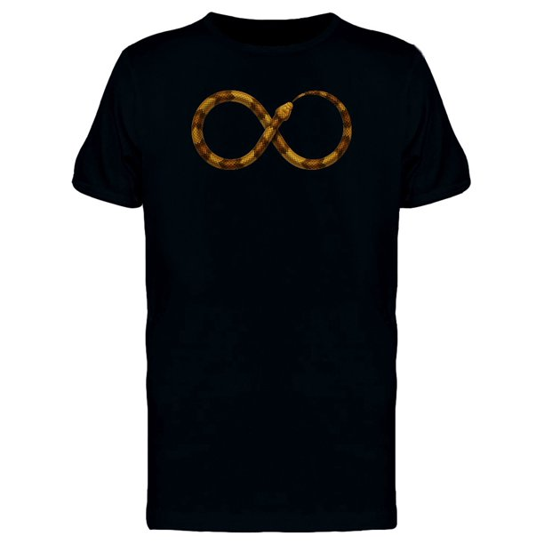 Ouroboros Brown Snake Tee Men's -Image by Shutterstock