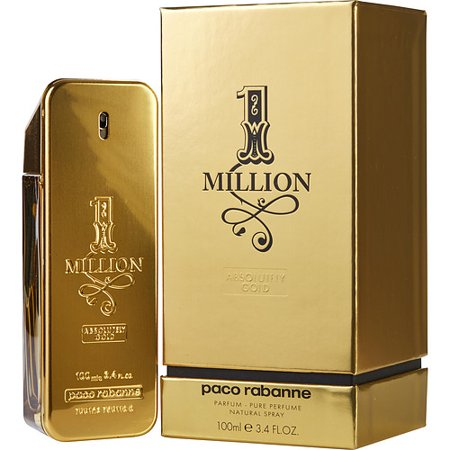 Paco Rabanne 1 Million Absolutely Gold Pure Parfum Spray 3 4 Oz By Pac