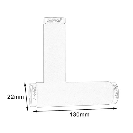 1 Pair AG36 Sponge Durable Shock-Proof Anti-Slip Lock Grips Ergonomics - image 3 de 6