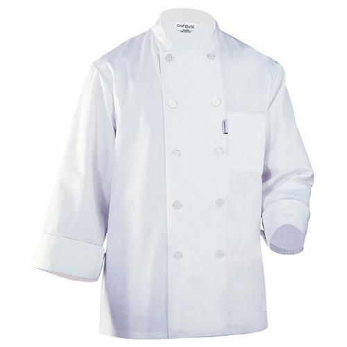 Chef Works LeMans Chef Coat Jacket White All Sizes by