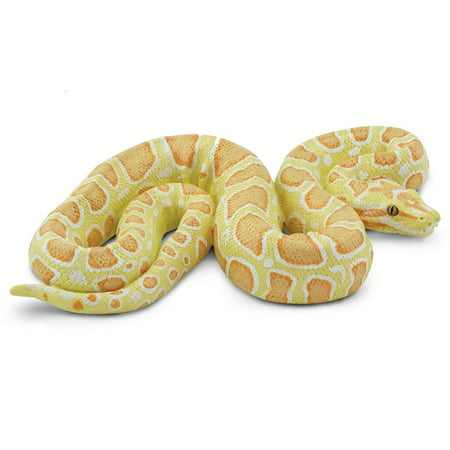 Incredible Creatures Albino Burmese Python Safari Ltd New Educational Toy Figure