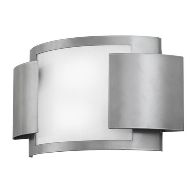 Meyda Tiffany 149287 17.5 in. Vista Wall Sconce, Nickel &...