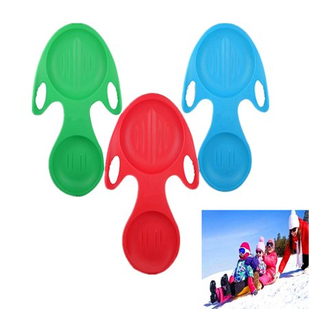 Snowboard Children Thicker Skiing Board Grass Sand Board Flying Fish Cartoon -