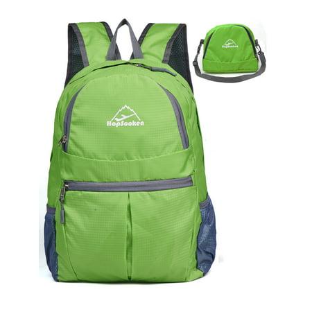 - Travel Lightweight Fold Casual Hiking Backpack School Women Men Gym Rucksack
